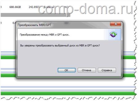 Бесплатная программа для работы с дисками