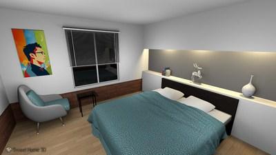 Sweet Home 3D — программа для проектирования интерьера квартиры.