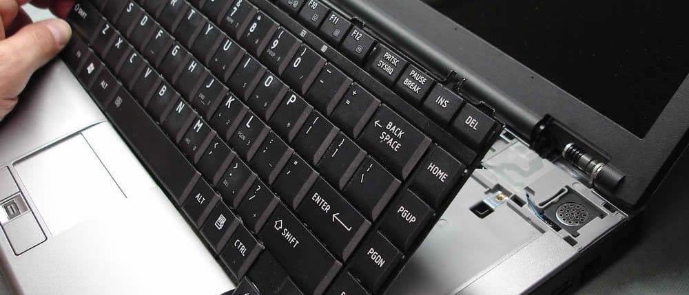 Не работает клавиатура на ноутбуке – что делать?