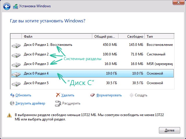 установка с флешки Windows 10