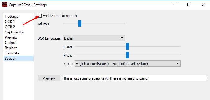 Capture2Text программа для распознания текста с фото