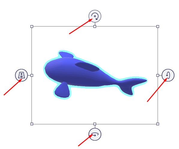 обработка изображения Paint 3D