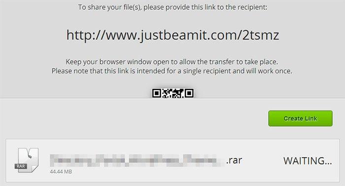Как отправить большие файлы по интернету