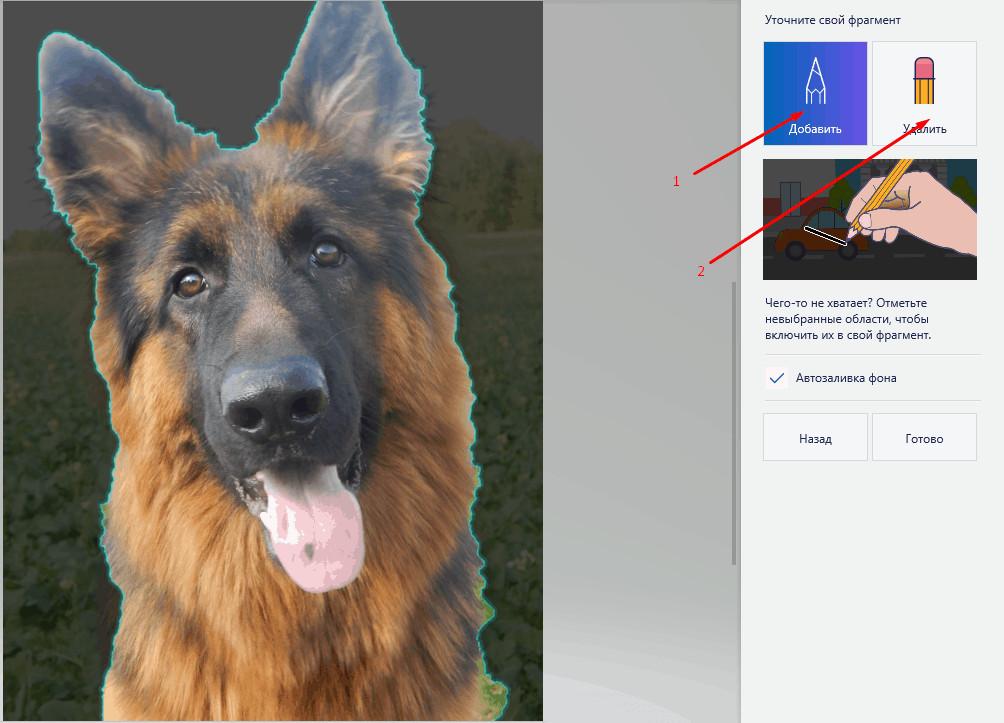 прозрачный фон в Paint 3d
