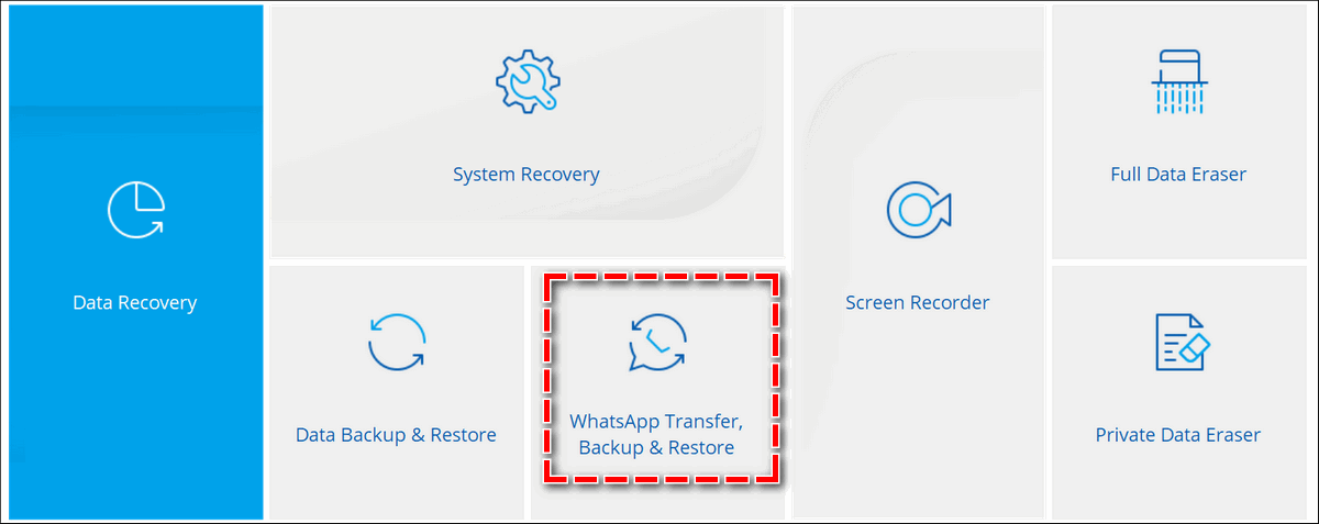 WhatsApp Transfer Backup and Restore