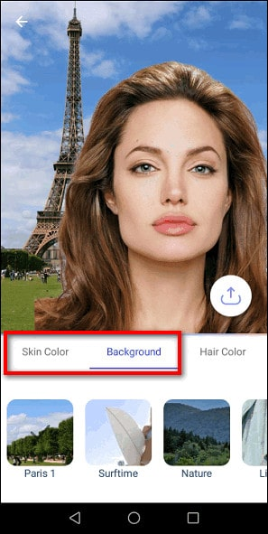 Skin Color и Background