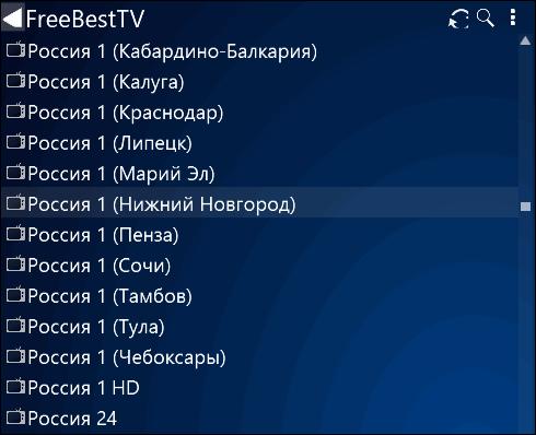 перечень каналов Россия 1