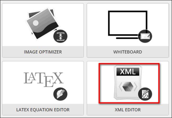 кнопка XML Editor