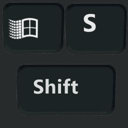 комбинация клавиш Win и Shift и S