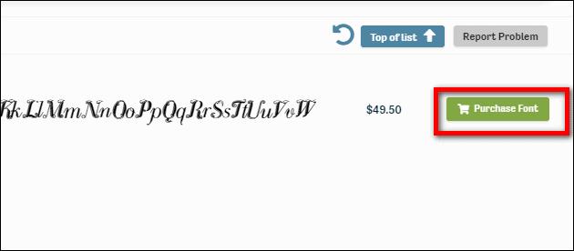 покупка или бесплатное скачивание шрифта