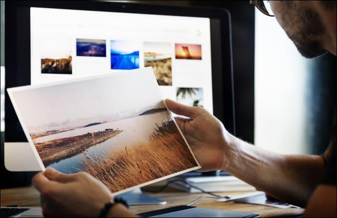 выбор фотографии на фотостоке